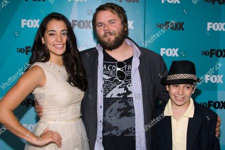 Natalie Martinez, Tyler Labine and Frank Dolce