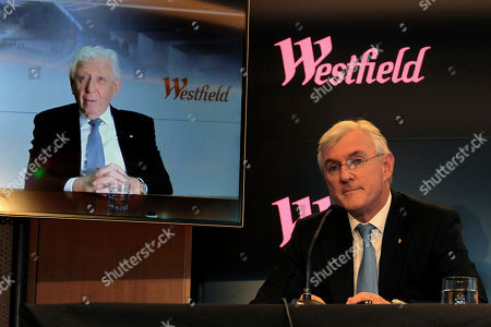 Stock Picture of Steven Lowy and Frank Lowy