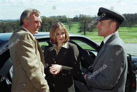 Ep 2368 Thursday 28th May 1998  Lady Tara teases Biff and accuses him of being jealous of her having a date - With Biff Fowler, as played by Stuart Wade ; Lady Tara Oakwell, as played by Anna Brecon; Lord Michael Thornfield, as played by Malcolm Stoddard.