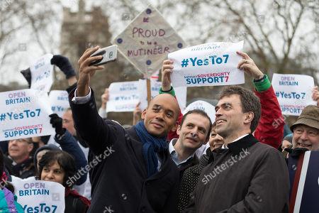 Editorial photo of Amendment 7 to the EU Withdrawal Bill rally, London, UK - 13 Dec 2017