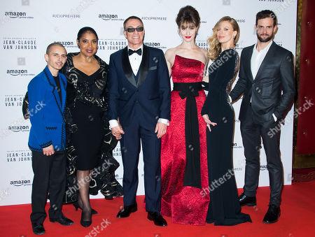 Editorial photo of 'Jean-Claude Van Johnson' TV show premiere, Paris, France - 12 Dec 2017