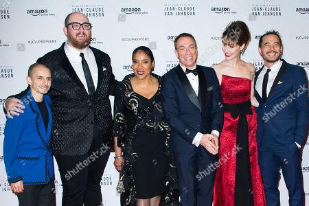 Moises Arias, Peter Atencio, Phylicia Rashad, Jean-Claude Van Damme, Kat Foster and David Callaham