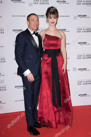 Stock Image of Jean-Claude Van Damme and Kat Foster