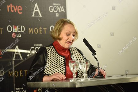 Editorial picture of Goya Awards nominations, Madrid, Spain - 13 Dec 2017