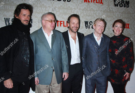 Christian Camargo, Errol Morris, Peter Sarsgaard, Scott Shepherd and Molly Parker