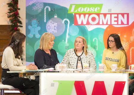 Editorial image of 'Loose Women' TV show, London, UK - 13 Dec 2017