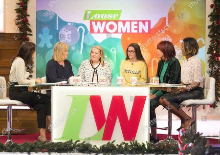 Editorial picture of 'Loose Women' TV show, London, UK - 13 Dec 2017