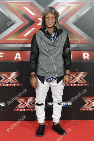 Editorial picture of X Factor final press conference, Milan, Italy - 13 Dec 2017