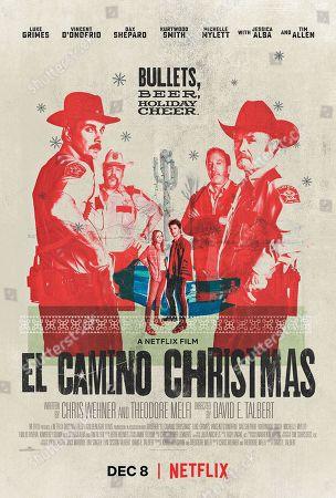 "Editorial picture of ""El Camino Christmas"" Film - 2017"