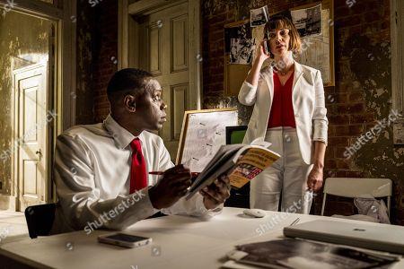 Malcolm Barrett, Julie Ann Emery