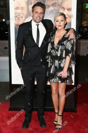 Chris Cowles and Kathleen Robertson
