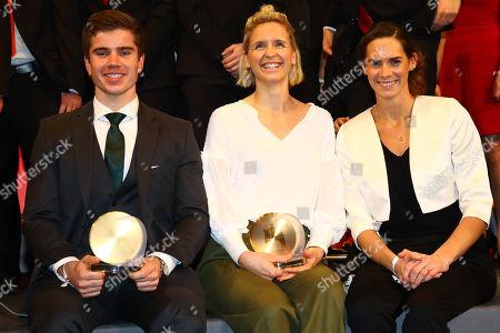 Torben Johannesen, Laura Ludwig and Kira Walkenhorst