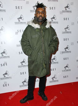 Editorial picture of 'Grenfell Voices Project' film premiere, London, UK - 13 Dec 2017