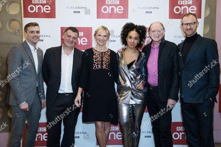 Guest, Steven Moffat, Jo Whiley, Pearl Mackie, David Bradley and Mark Gatiss