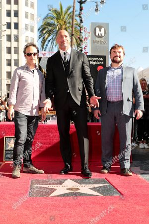 Jake Kasdan, Writer/Director, Dwayne Johnson and Jack Black
