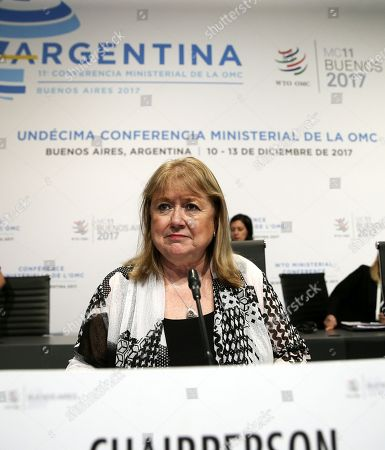 Editorial picture of Closing ceremony of the 11th WTO Ministerial Conference in Argentina, Buenos Aires - 13 Dec 2017