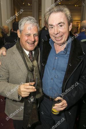 Cameron Mackintosh and Sir Andrew Lloyd Webber
