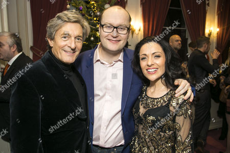 Nigel Havers (Captain Nigel), Michael Harrison (Producer/Director) and Kathryn Rooney