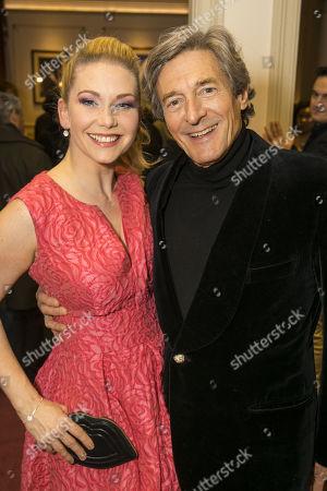 Stock Picture of Emma Williams (Alice Fitzwarren) and Nigel Havers (Captain Nigel)