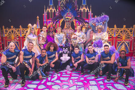 Emma Williams (Alice Fitzwarren), Charlie Stemp (Dick Whittington), Elaine Paige (Queen Rat), Nigel Havers (Captain Nigel), Lukus Alexander (Eileen the Cat), Julian Clary (Spirit of the Bells), Paul Zerdin (Idle Jack), Ashley Banjo (The Sultan), Gary Wilmot (Sarah the Cook) and Diversity (The Sultan's Special Advisors) backstage