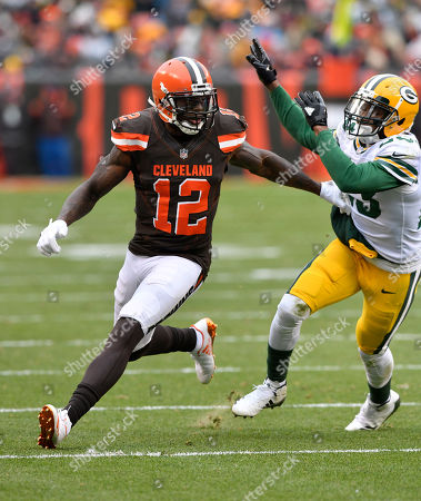 Editorial photo of Packers Browns Football, Cleveland, USA - 10 Dec 2017