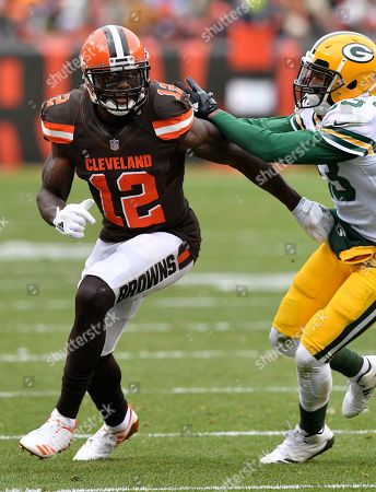 Editorial image of Packers Browns Football, Cleveland, USA - 10 Dec 2017
