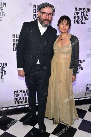 Paul McGuigan (L) and Natasha Noramly