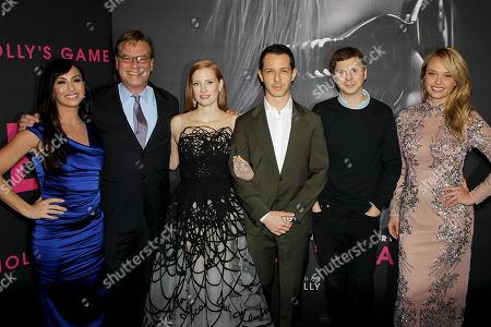 Bill Camp, Molly Bllom, Aaron Sorkin (Director, Screenwriter), Jessica Chastain, Jeremy Strong, Michael Cera, Madison McKinley