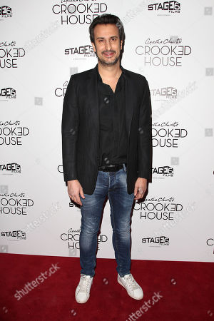 Editorial picture of New York Premiere of 'CROOKED HOUSE', USA - 13 Dec 2017