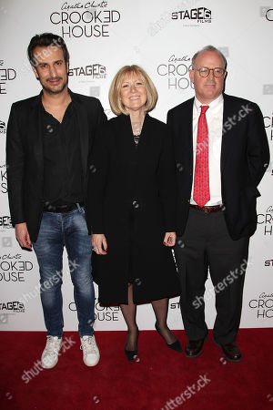 Editorial image of New York Premiere of 'CROOKED HOUSE', USA - 13 Dec 2017