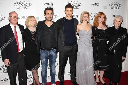 Sally Wood, Joe Abrams (Producers), Gilles Paquet-Brenner, Max Irons, Stefanie Martini, Christina Hendricks and Glenn Close
