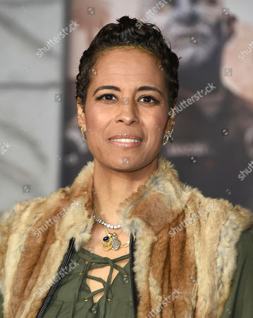 "Daphne Wayans arrives at the U.S. premiere of ""Bright"" at the Regency Village Theatre, in Los Angeles"
