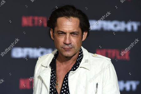 """Stock Photo of Enrique Murciano arrives at the U.S. premiere of """"Bright"""" at the Regency Village Theatre, in Los Angeles"""