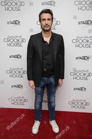 """Director Gilles Paquet-Brenner attends the premiere of """"Crooked House"""" at Metrograph, in New York"""