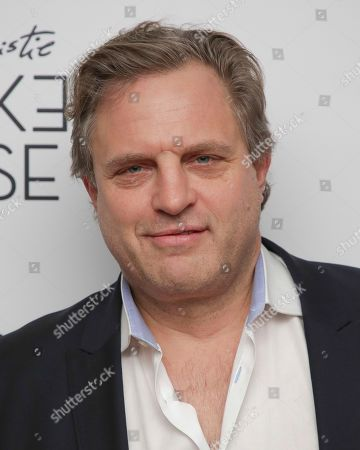 """Film producer Michael Mailer attends the premiere of """"Crooked House"""" at Metrograph, in New York"""