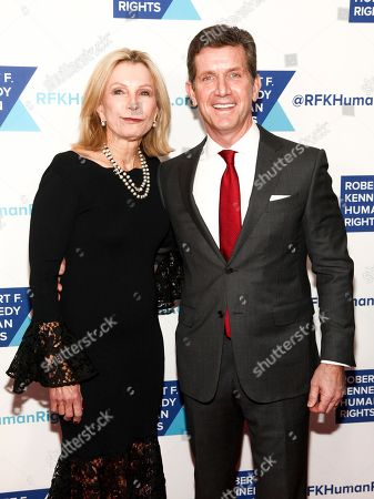 Patricia Gorsky, Alex Gorsky. Patricia Gorsky, left, and Alex Gorsky, right, attend the 2017 Ripple of Hope Awards at the New York Hilton, in New York