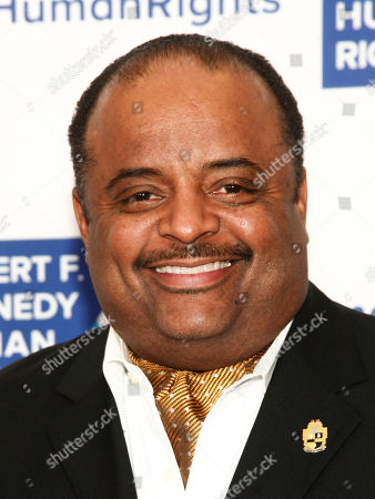 Roland Martin attends the 2017 Ripple of Hope Awards at the New York Hilton, in New York