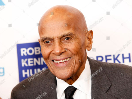 Harry Belafonte attends the 2017 Ripple of Hope Awards at the New York Hilton, in New York