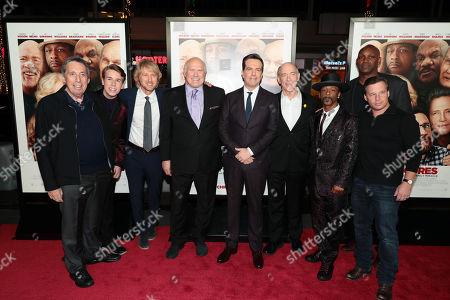 Ivan Reitman, producer, Zachary Haven, Owen Wilson, Terry Bradshaw, Ed Helms, JK Simmons, Katt Williams, Broderick Johnson, producer, and Andrew A. Kosove, producer