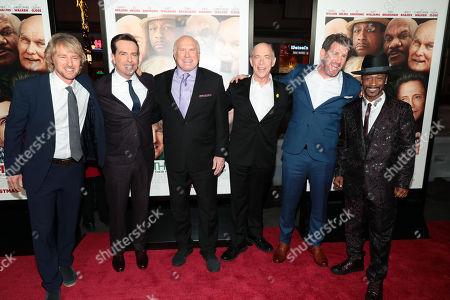 Owen Wilson, Ed Helms, Terry Bradshaw, JK Simmons, Lawrence Sher, director, Katt Williams