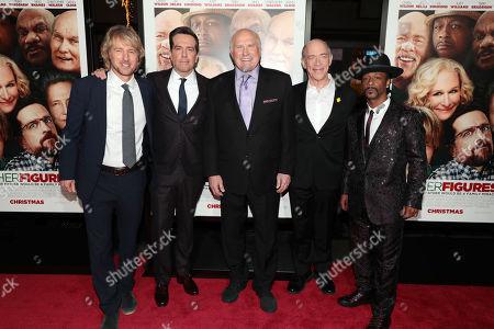 Owen Wilson, Ed Helms, Terry Bradshaw, JK Simmons and Katt Williams