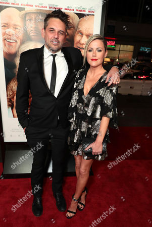 Chris Cowles, executive producer, and Kathleen Robertson