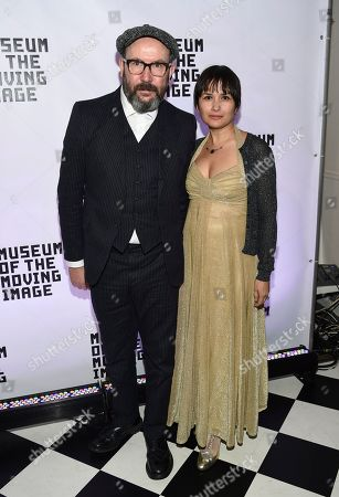 Paul McGuigan, Natasha Noramly. Director Paul McGuigan and wife Natasha Noramly attend the Museum of the Moving Image Salute to Annette Bening at 583 Park Avenue, in New York