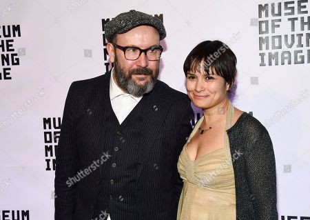 Stock Picture of Paul McGuigan, Natasha Noramly. Director Paul McGuigan and wife Natasha Noramly attend the Museum of the Moving Image Salute to Annette Bening at 583 Park Avenue, in New York