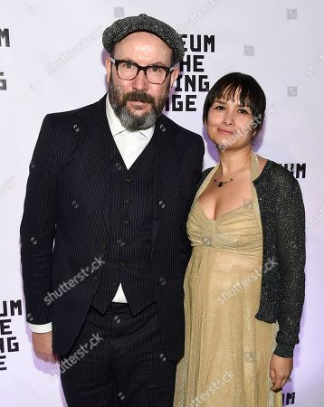 Stock Image of Paul McGuigan, Natasha Noramly. Director Paul McGuigan and wife Natasha Noramly attend the Museum of the Moving Image Salute to Annette Bening at 583 Park Avenue, in New York