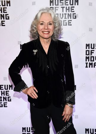 Stock Image of Actress Kathryn Leigh Scott attends Museum of the Moving Image Salute to Annette Bening at 583 Park Avenue, in New York