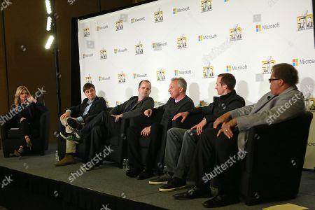 Editorial picture of Super Bowl Week Microsoft Panel, San Francisco, USA - 2 Feb 2016