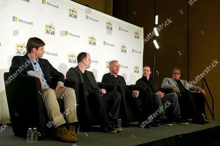 Editorial image of Super Bowl Week Microsoft Panel, San Francisco, USA - 2 Feb 2016