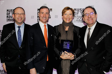 Stock Picture of Carl Goodman, Ivan Lustig, Annette Bening and Michael Barker