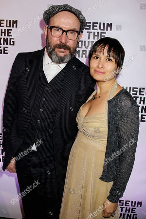Stock Photo of Paul McGuigan with Wife